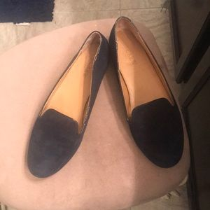 Nice navy J.Crew leather shoes